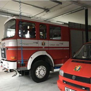 MTS SC 1000 B Feuerwehr Schlauchtrocknunsanlage Fire hose drying system