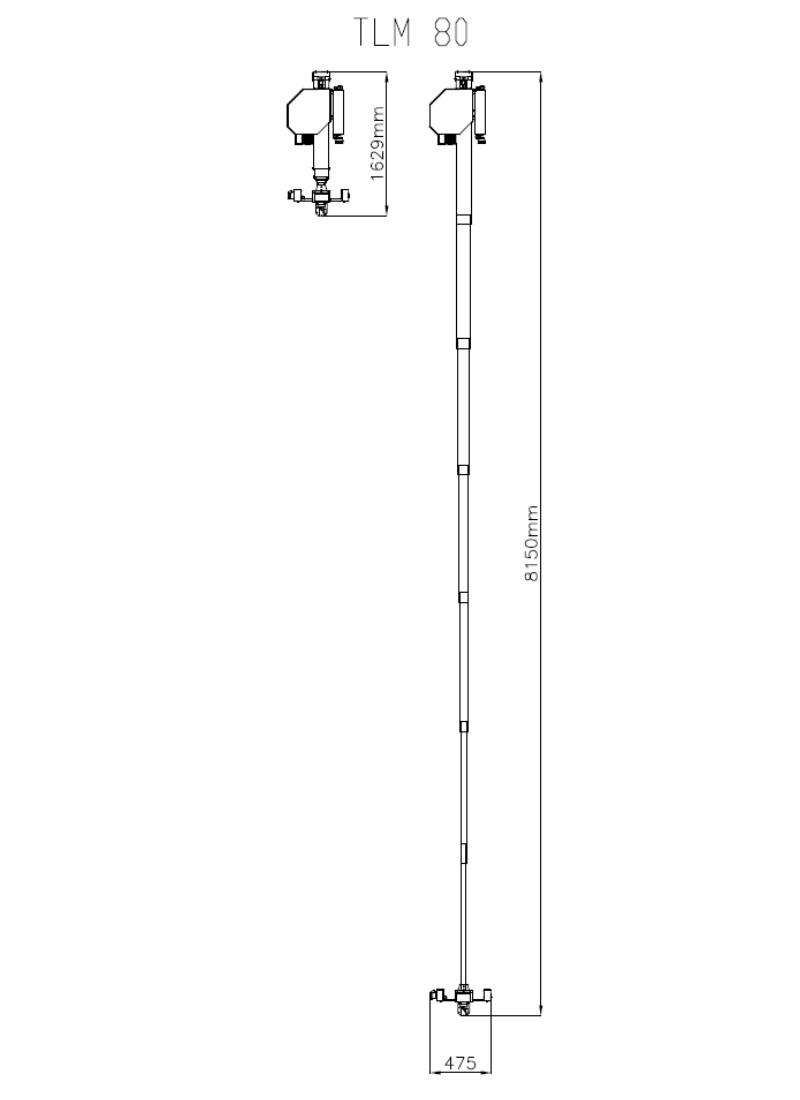 Teleskop TLM_Zeichnung_TLM 80
